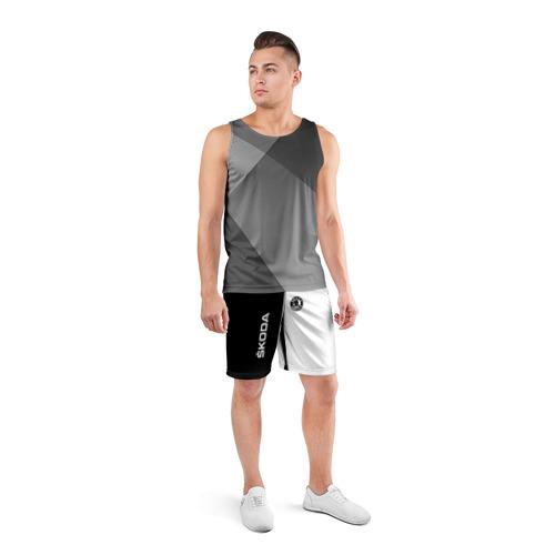 Мужские шорты 3D спортивные  Фото 04, Skoda Auto a.s.