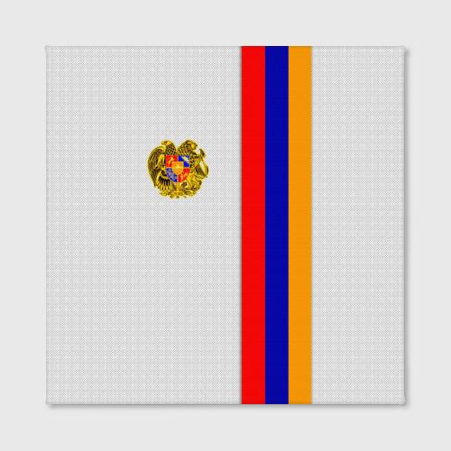 Холст квадратный  Фото 02, I Love Armenia
