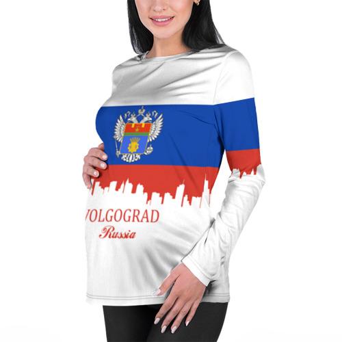 Женский лонгслив 3D для беременных  Фото 01, VOLGOGRAD (Волгоград)