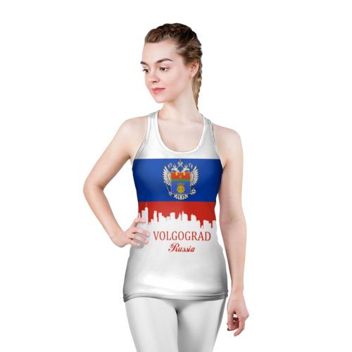 Женская майка 3D спортивная  Фото 03, VOLGOGRAD (Волгоград)
