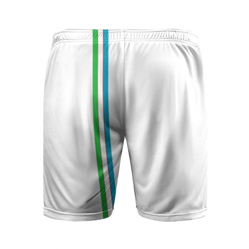 Мужские шорты 3D спортивные  Фото 02, Узбекистан, лента с гербом