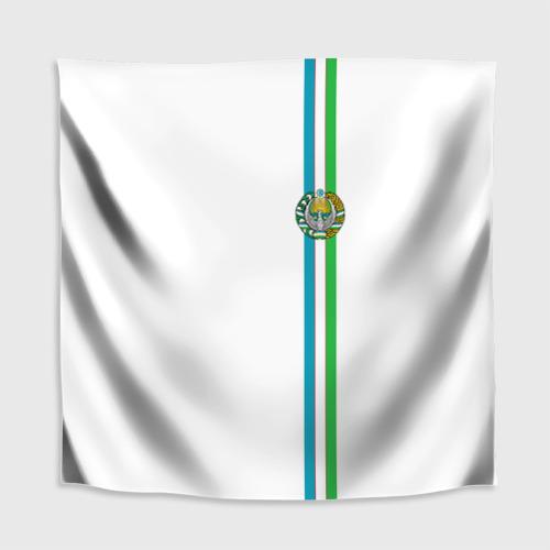 Скатерть 3D  Фото 02, Узбекистан, лента с гербом