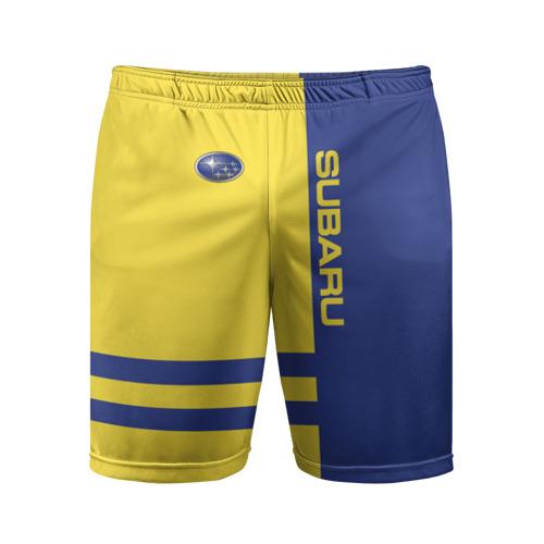 Мужские шорты 3D спортивные  Фото 01, Subaru
