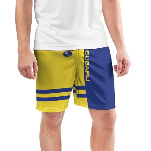 Мужские шорты 3D спортивные  Фото 03, Subaru