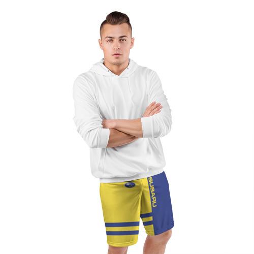 Мужские шорты 3D спортивные  Фото 05, Subaru