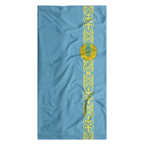 Бандана-труба 3D  Фото 07, Казахстан, лента с гербом