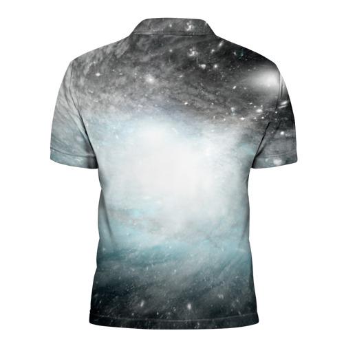 Мужская рубашка поло 3D  Фото 02, Туманность