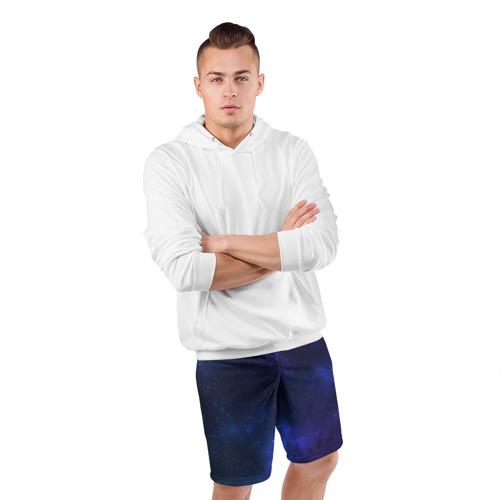 Мужские шорты 3D спортивные  Фото 05, Звёздное небо