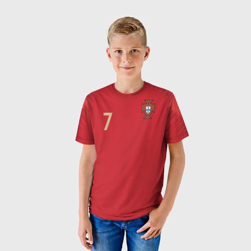 Детская футболка 3D Роналду 2018 ЧМ