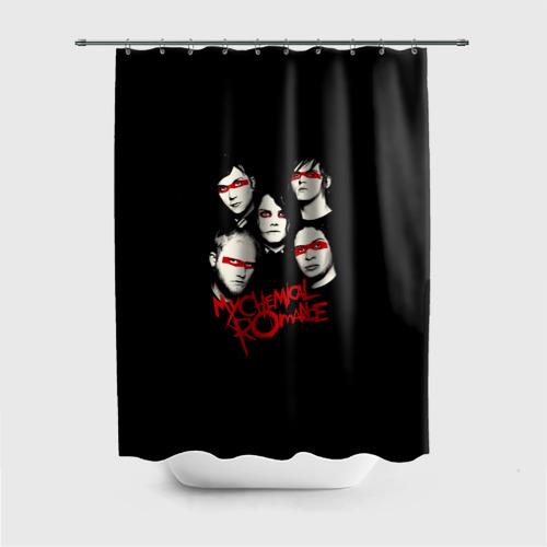 Штора 3D для ванной  Фото 01, Группа My Chemical Romance
