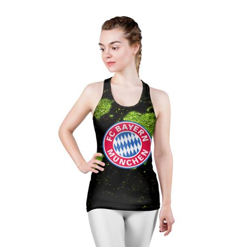 Женская майка 3D спортивная  Фото 03, Bayern Munchen WORLD