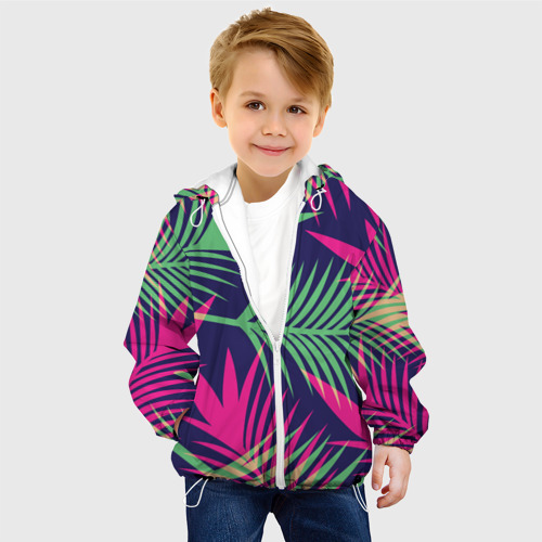 Детская куртка 3D  Фото 03, Листья Пальмы