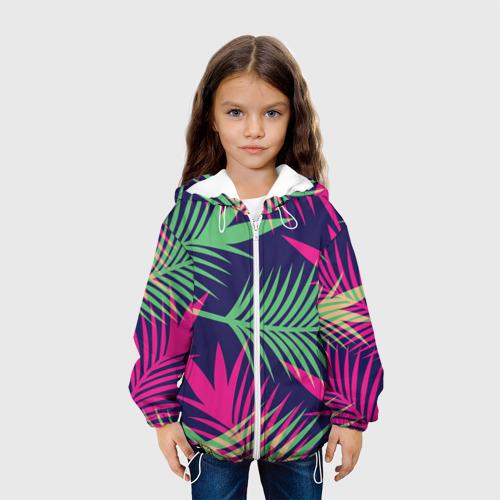 Детская куртка 3D  Фото 04, Листья Пальмы