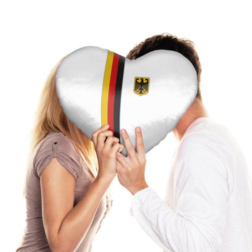 Подушка 3D сердце  Фото 03, I Love Germany