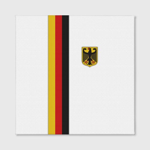 Холст квадратный  Фото 02, I Love Germany