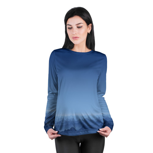 Женский лонгслив 3D для беременных  Фото 04, Blue Mountains