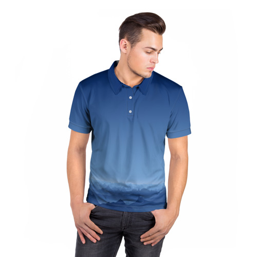 Мужская рубашка поло 3D  Фото 05, Blue Mountains