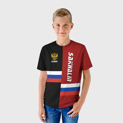 Детская футболка 3D  Фото 01, SAKHALIN (Сахалин)