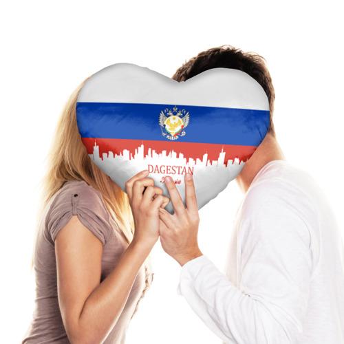 Подушка 3D сердце  Фото 03, DAGESTAN (Волгоград)