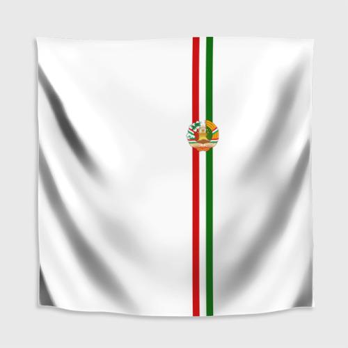 Скатерть 3D  Фото 02, Таджикистан, лента с гербом