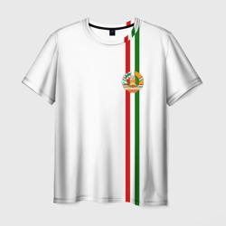 Таджикистан, лента с гербом