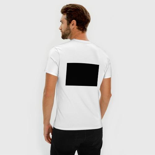 Мужская футболка премиум  Фото 04, Blue October