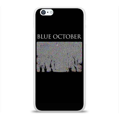 Чехол для Apple iPhone 6Plus/6SPlus силиконовый глянцевый  Фото 01, Blue October