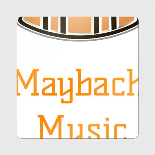 Магнит виниловый Квадрат  Фото 01, Maybach Music