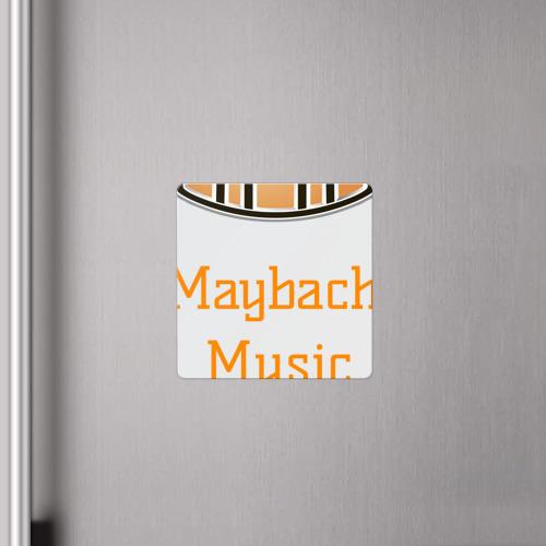 Магнит виниловый Квадрат  Фото 04, Maybach Music