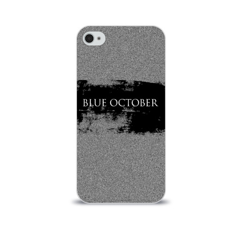 Чехол для Apple iPhone 4/4S soft-touch  Фото 01, Blue October