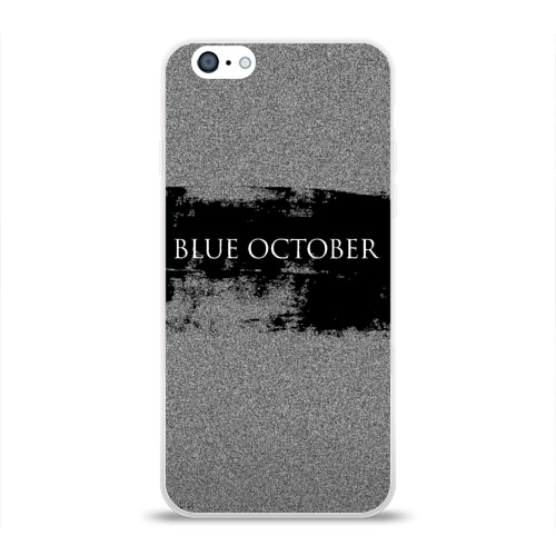 Чехол для Apple iPhone 6 силиконовый глянцевый  Фото 01, Blue October
