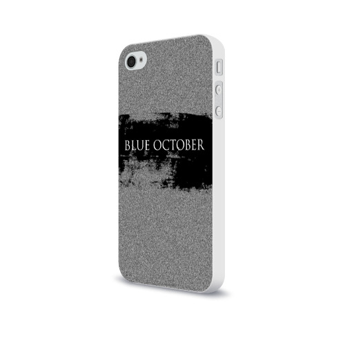 Чехол для Apple iPhone 4/4S soft-touch  Фото 03, Blue October