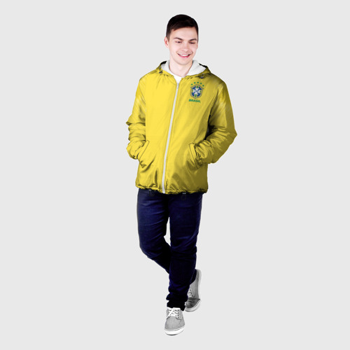 Мужская куртка 3D  Фото 03, Бразилия 2018