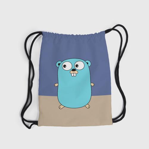 Рюкзак-мешок 3D Golang Фото 01