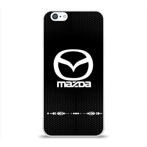Чехол для Apple iPhone 6 силиконовый глянцевый  Фото 01, Mazda sport auto abstract