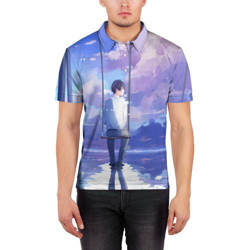 Мужская рубашка поло 3D  Фото 03, Качели
