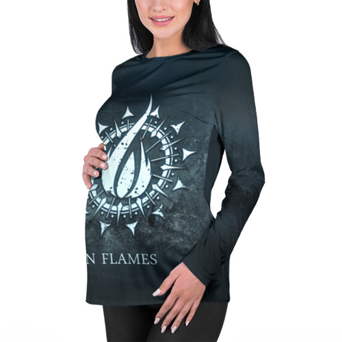 Женский лонгслив 3D для беременных  Фото 01, In Flames
