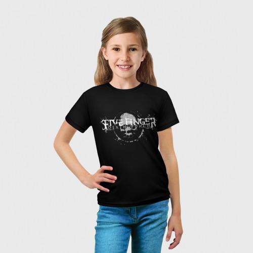 Детская футболка 3D  Фото 03, Five Finger Death Punch 3