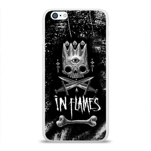 Чехол для Apple iPhone 6Plus/6SPlus силиконовый глянцевый  Фото 01, In Flames King