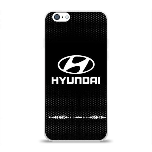 Чехол для Apple iPhone 6 силиконовый глянцевый  Фото 01, Hyundai sport auto abstract