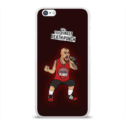 Чехол для Apple iPhone 6Plus/6SPlus силиконовый глянцевый  Фото 01, Five Finger Death Punch 9