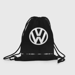 Volkswagen sport auto abstract