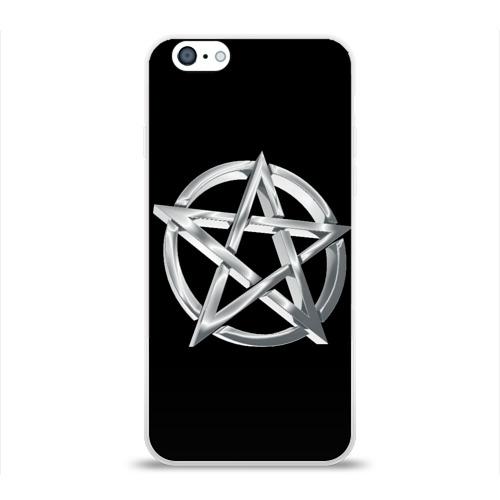 Чехол для Apple iPhone 6 силиконовый глянцевый  Фото 01, Пентаграмма