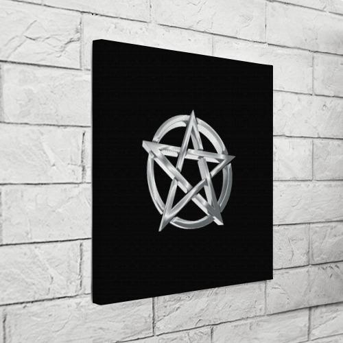 Холст квадратный Пентаграмма Фото 01