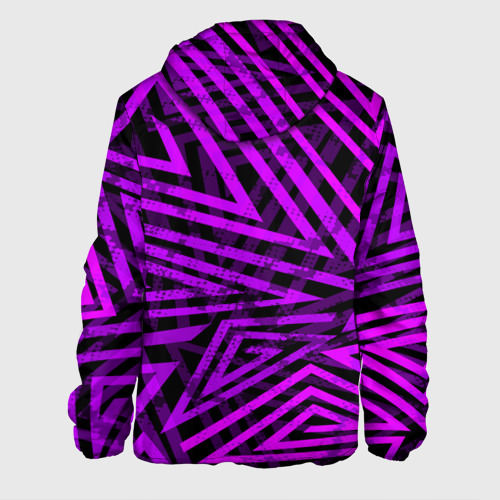 Мужская куртка 3D  Фото 02, Неоновая геометрия