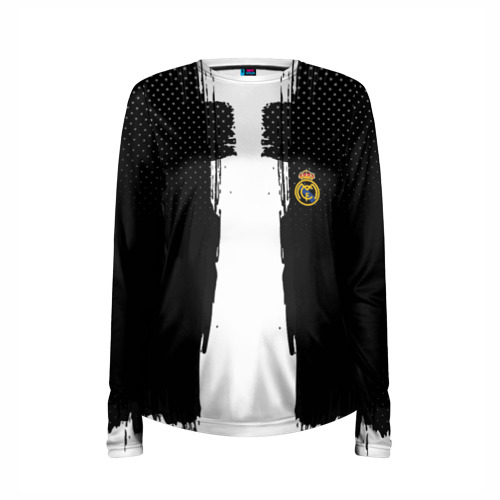 Женский лонгслив 3D для беременных  Фото 03, Real Madrid sport uniform colo