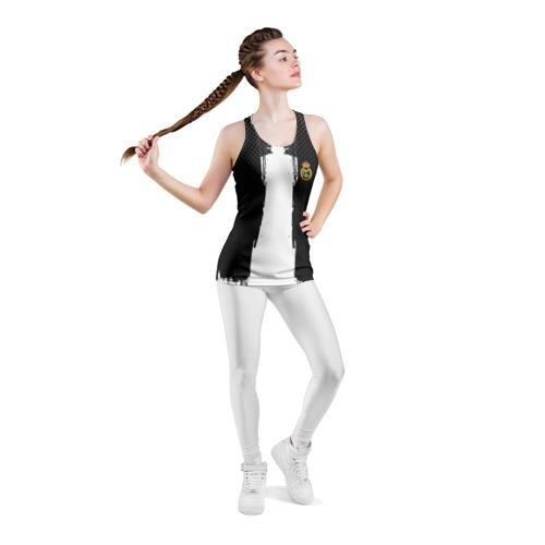 Женская майка 3D спортивная  Фото 05, Real Madrid sport uniform colo