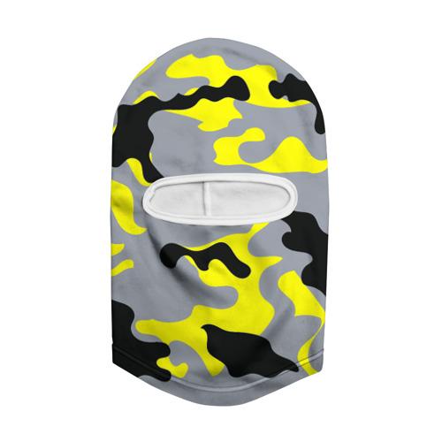 Балаклава 3D  Фото 02, Yellow camouflage