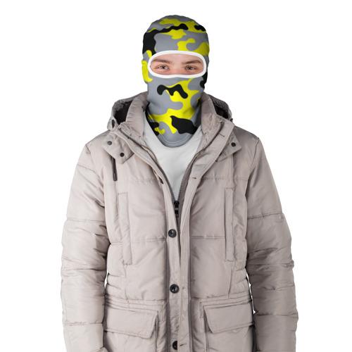 Балаклава 3D  Фото 03, Yellow camouflage