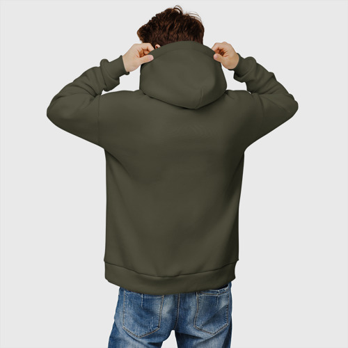 Мужское худи Oversize хлопок ФСКН с гербом Фото 01